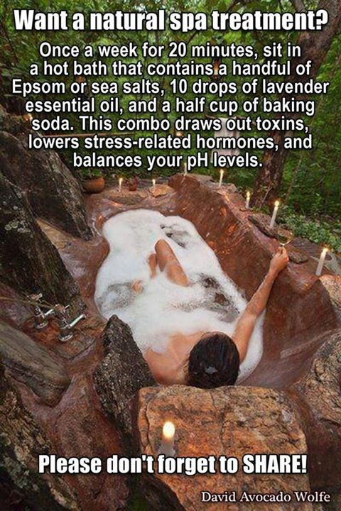 epsom salt spa