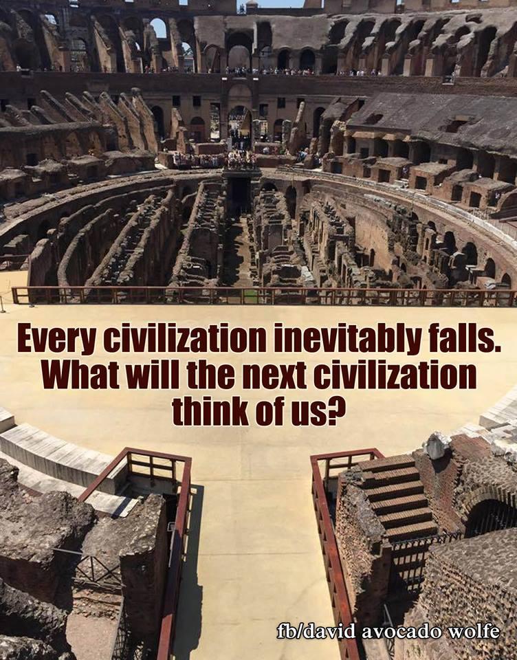 civilization fails david wolfe