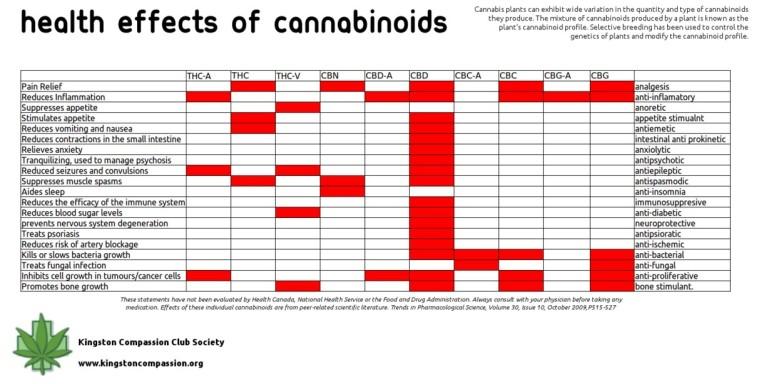 Cannabis Health effects