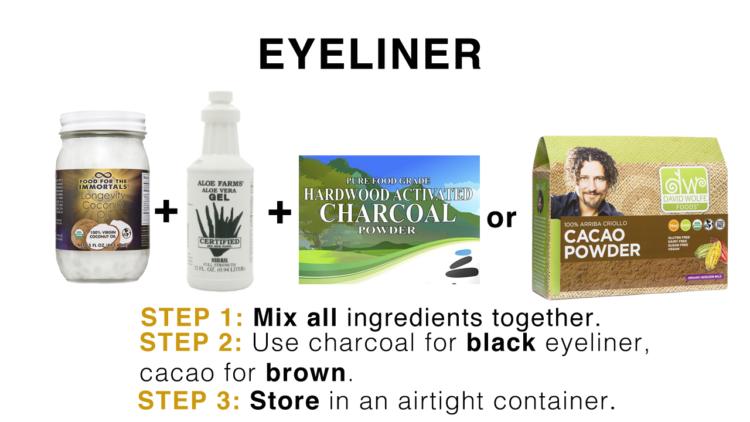 coconut oil eyeliner davidwolfe