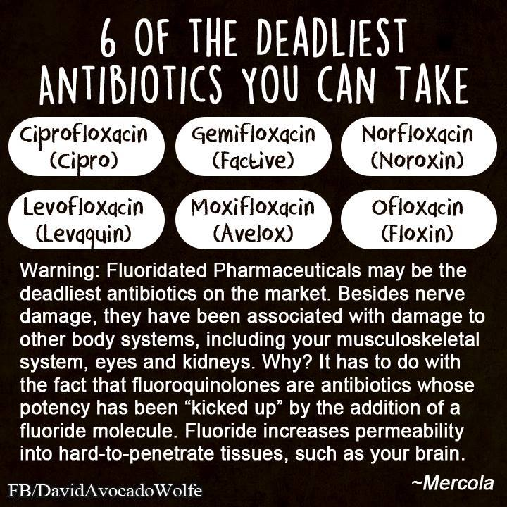 deadly antibiotics david wolfe