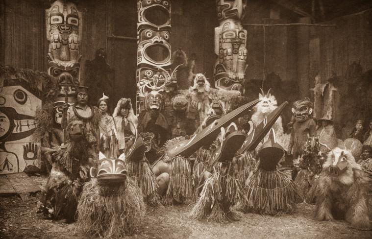 Masked dancers - Qagyuhl