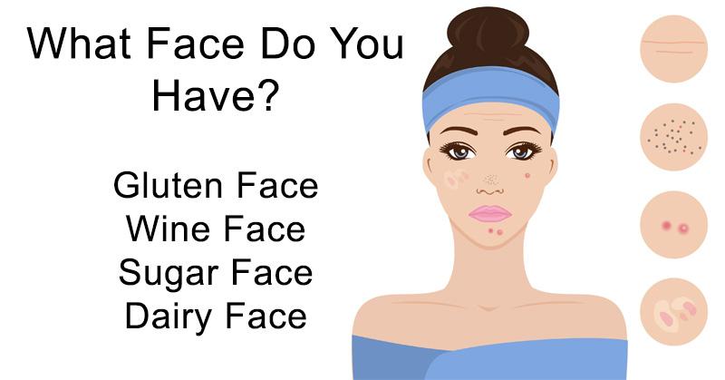 Puffy facial skin