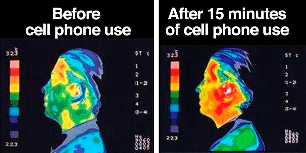 Cell phone tower health risks study