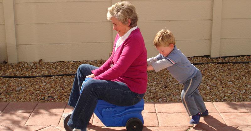grandma-babysitting