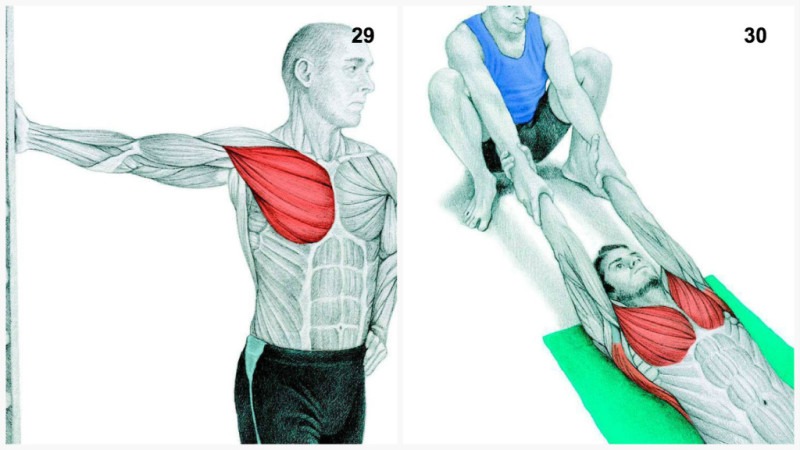 34 Pictures That Show You Exactly What Muscles Youre Stretching