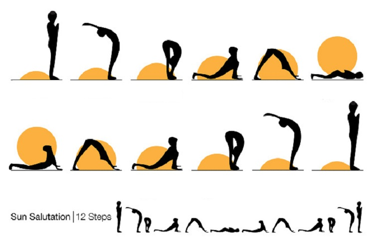 This Sun Salutation Sequence Will Revitalize Your Body And Give You