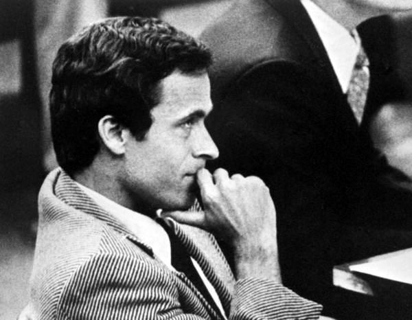 Ted Bundy, sociopath and serial killer.