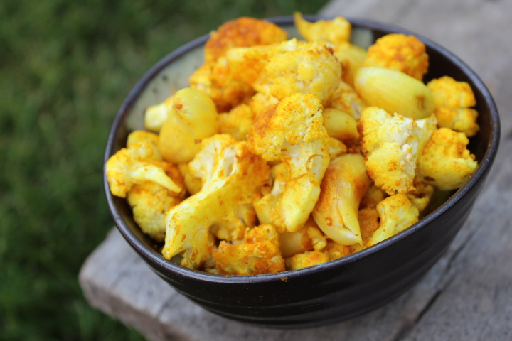 Turmeric-Roasted-Garlic-Cauliflower