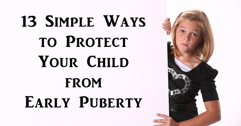 child early puberty FI