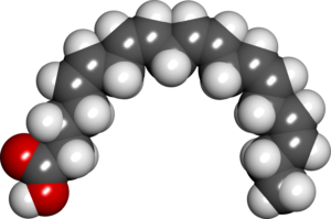 Eicosapentaenoic_acid_spacefill