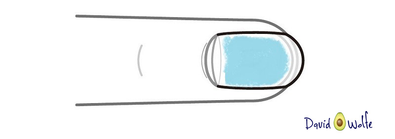 nail bluedw