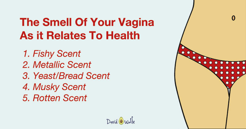 My vagina smells after sex