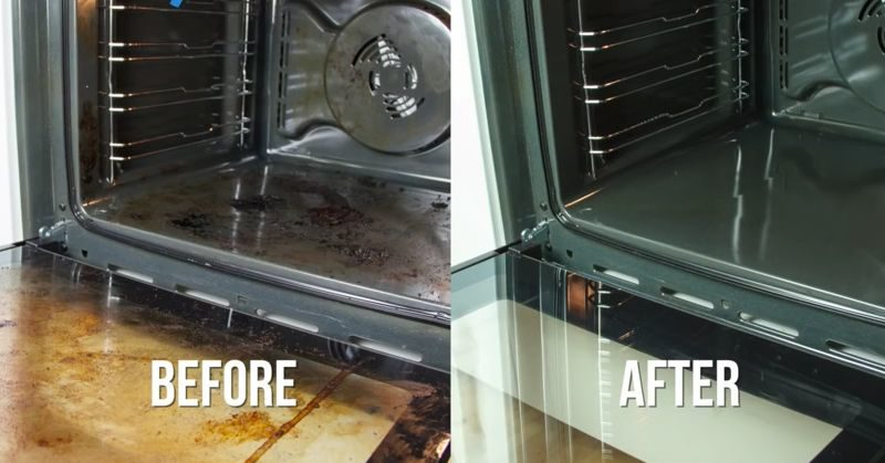 There Is Another Way To Make Cleaning Your Oven Easier And It All Natural