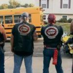 bikers bus stop