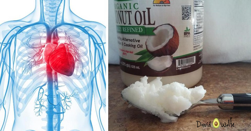 coconut oil heart