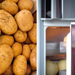 potatoe refrigerator