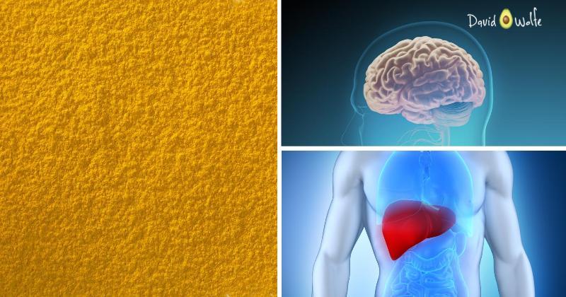 turmeric brain liver