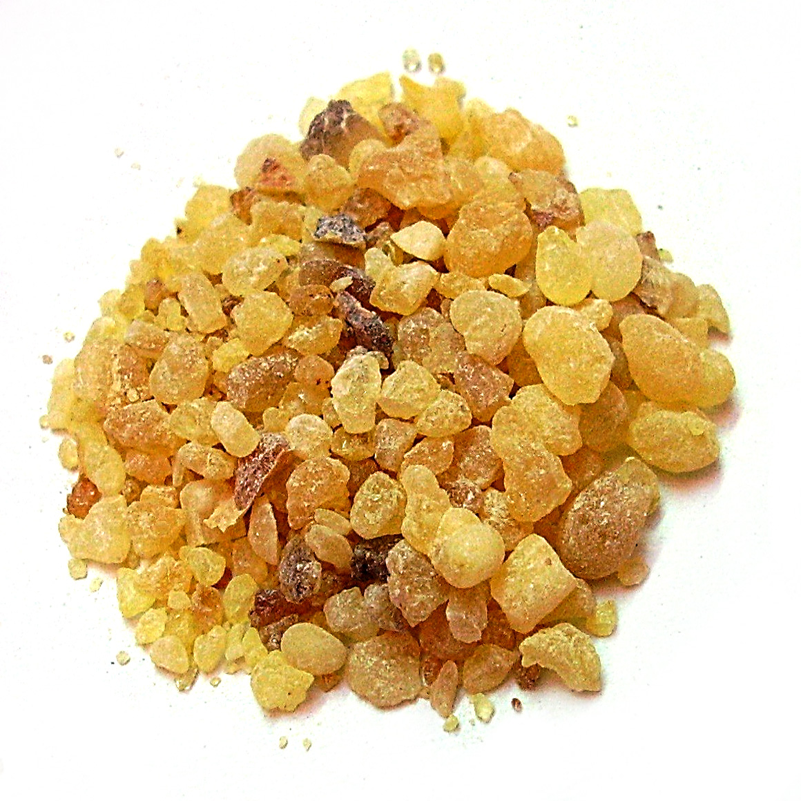 Frankincense is resin from the Boswellia plant.