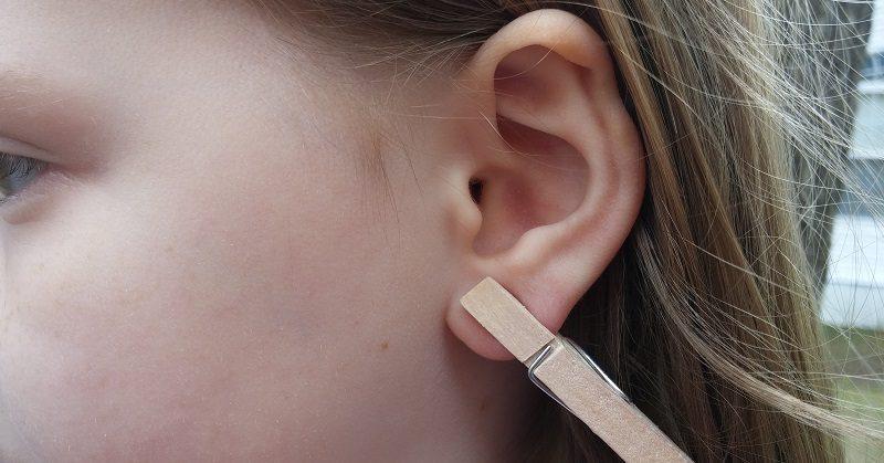clothespin ear FI