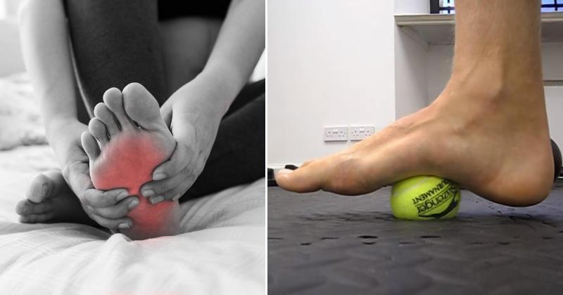 foot pain FI