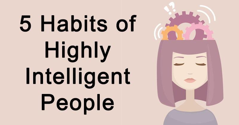 habits intelligent people FI