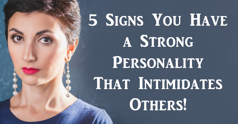 intimidating person meaning
