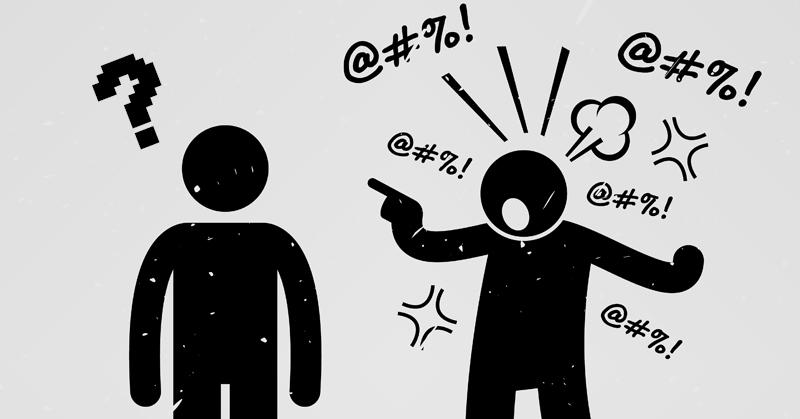verbally aggresive FI