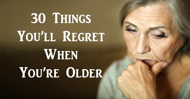 30 regrets FI02