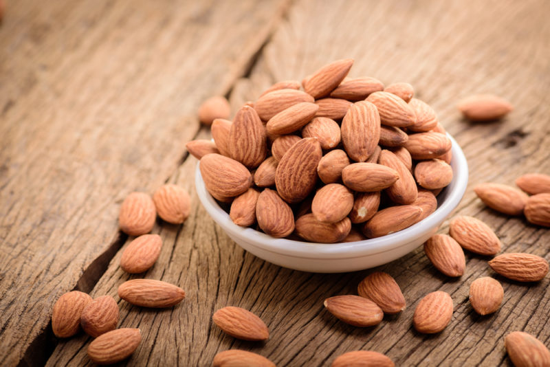 almonds prevent strokes