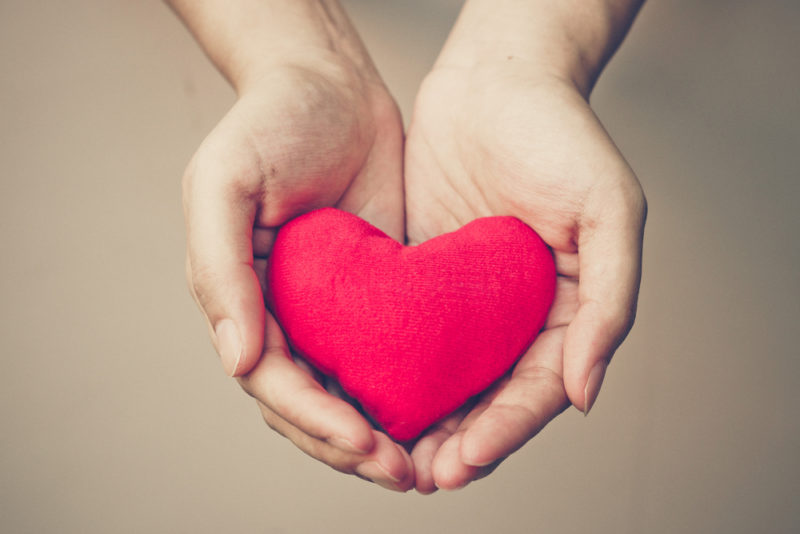 heart donate blood