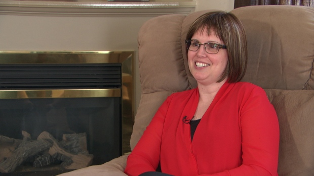 Jennifer Molson, now 41, was diagnosed with MS at the age of 21. (Photo: CBC)