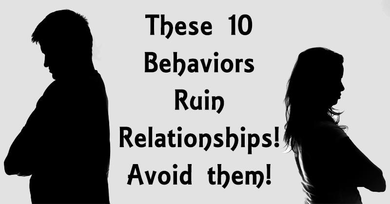 ruin relationships FI