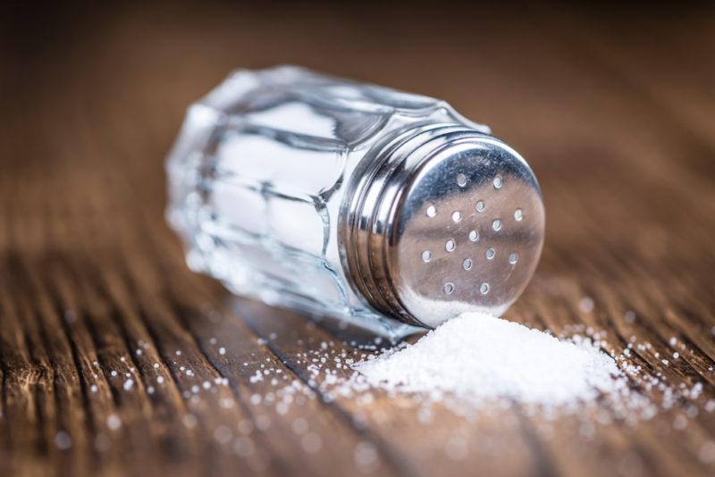 popular seasoning table salt