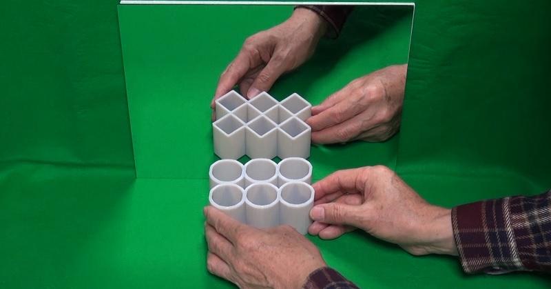 cylinder diamond illusion FI