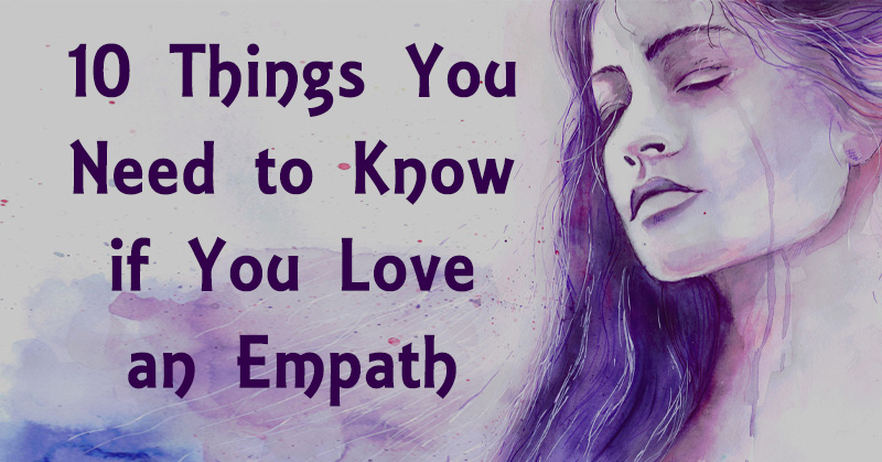 How to be in a relationship with an empath