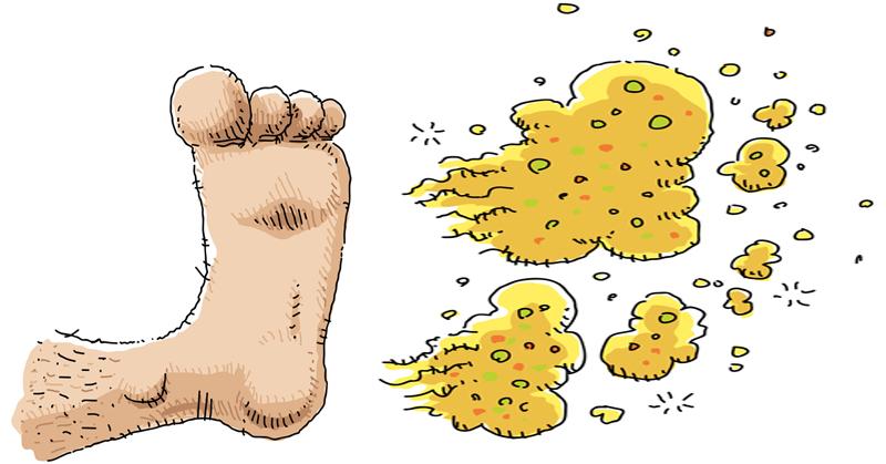 smelly feet FI