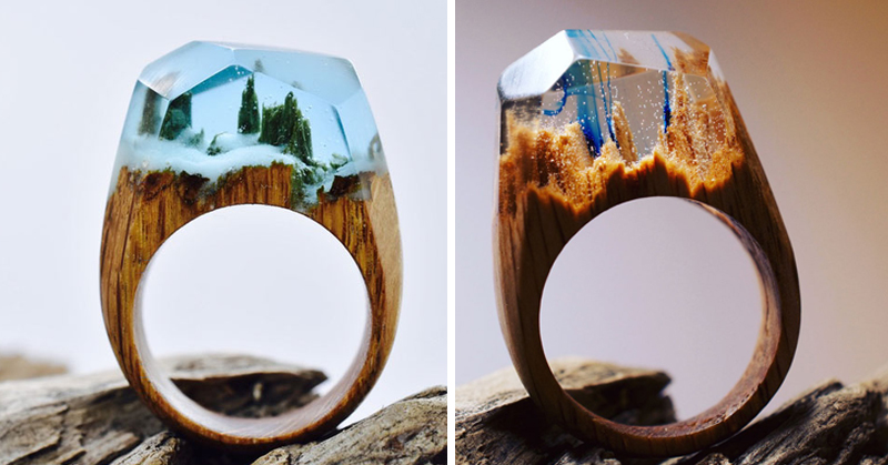 wooden rings FI