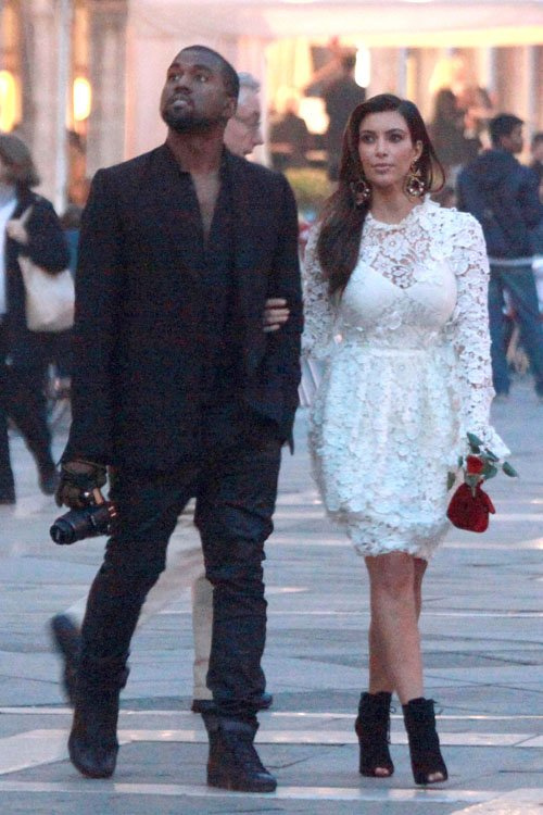 Kim Kardashian (Libra) and Kanye West (Gemini)