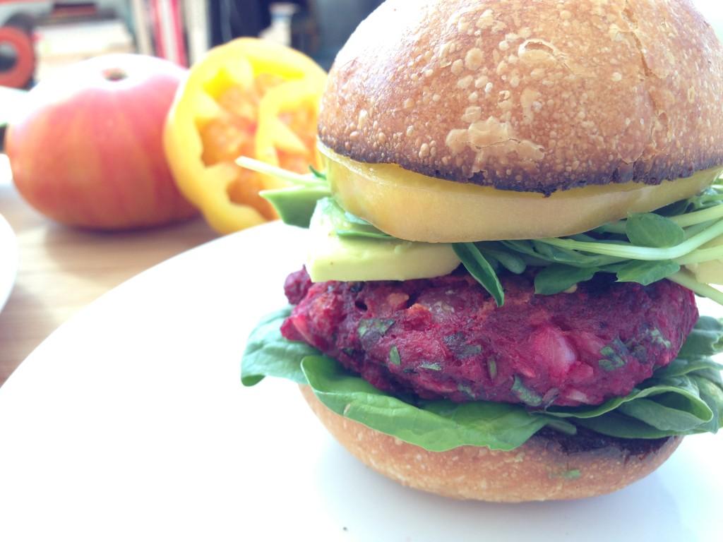 Beet Burger Recipe