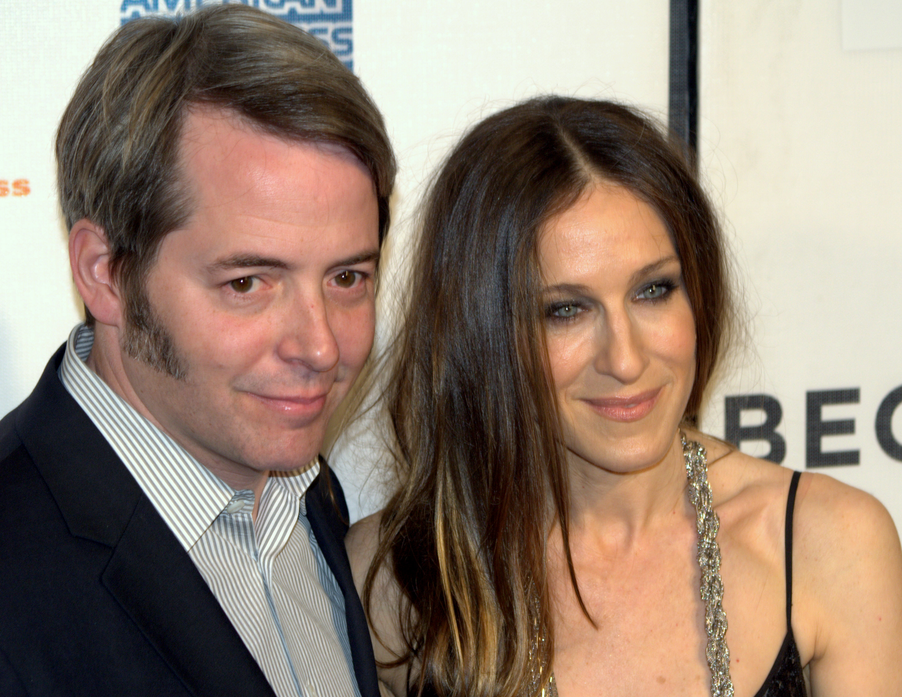 Sarah Jessica Parker and Matthew Broderick (Both Aries)