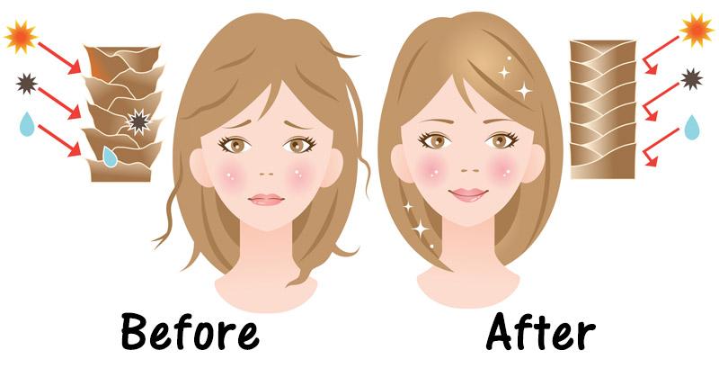 hair damage FI