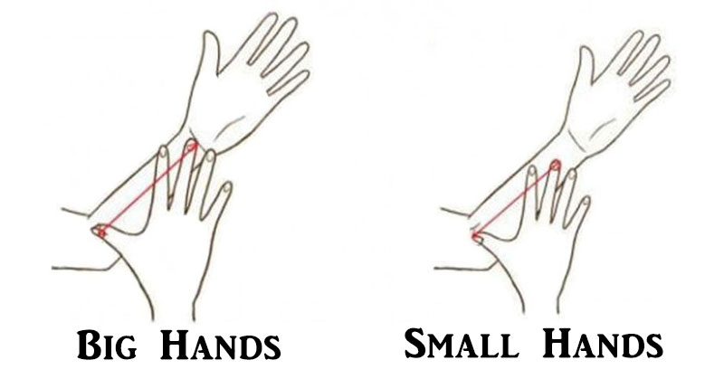 THIS Is What Your Hand Size Says About Your Personality!
