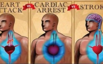 This Is The Difference Between A Heart Attack, Cardiac Arrest And A Stroke!