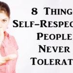 self respecting people FI