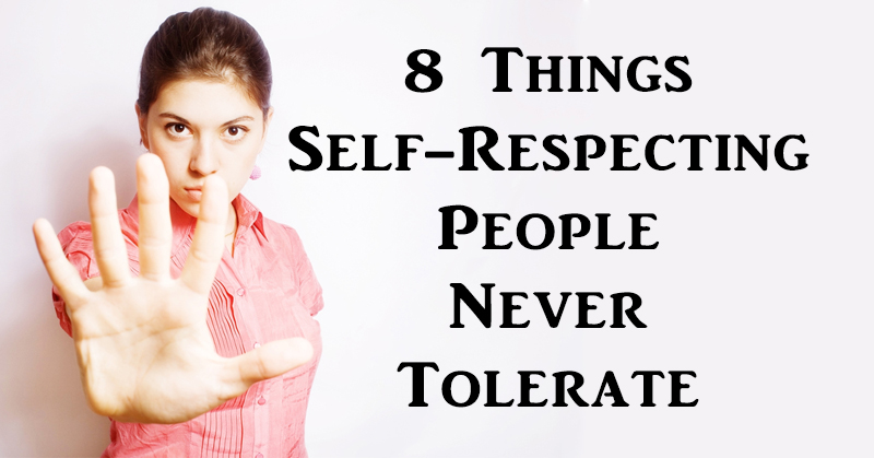 self respecting people FI