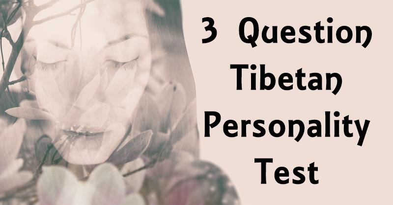 tibetan personality test FI