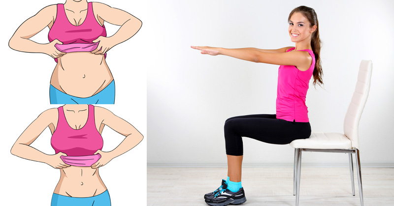 5 Chair Exercises That Reduce Belly Fat In No TimeDavid