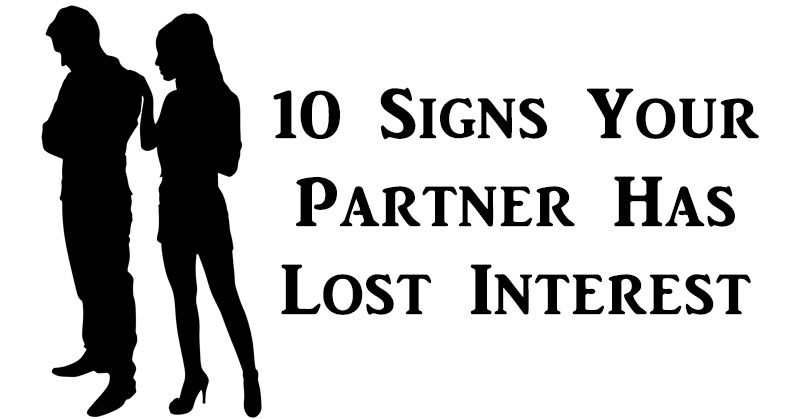 Signs husband is losing interest