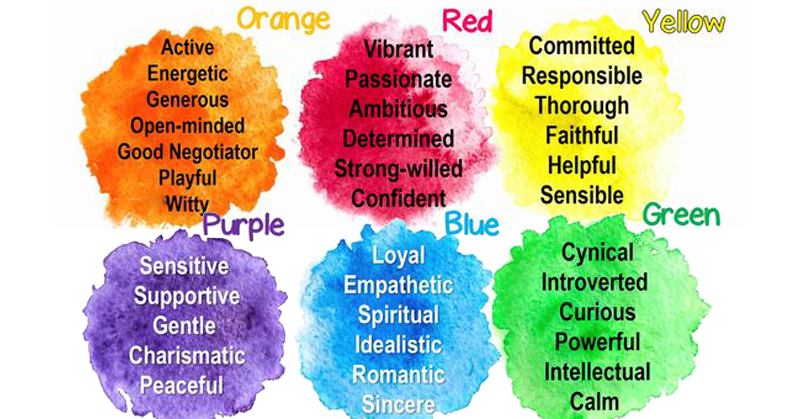 true color personality FI